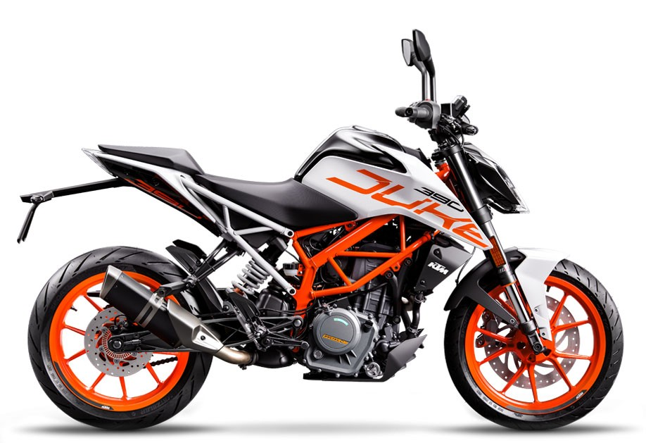 KTM 390 DUKE WHITE (EU) 2018