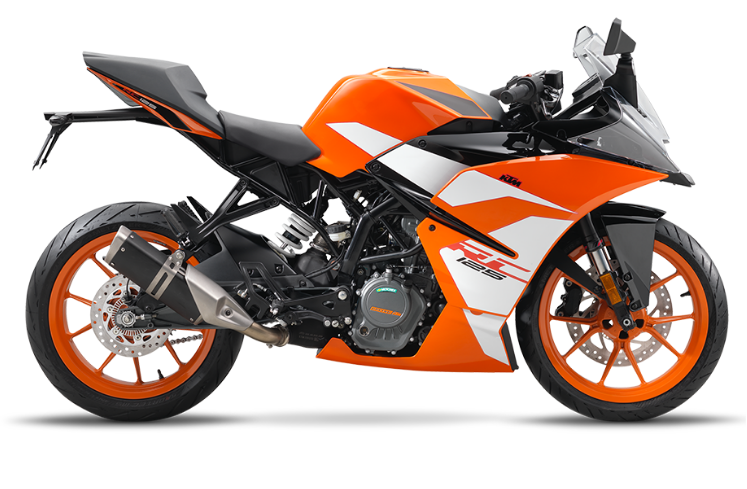 RC 125, orange, - B.D. 2019 (EU)