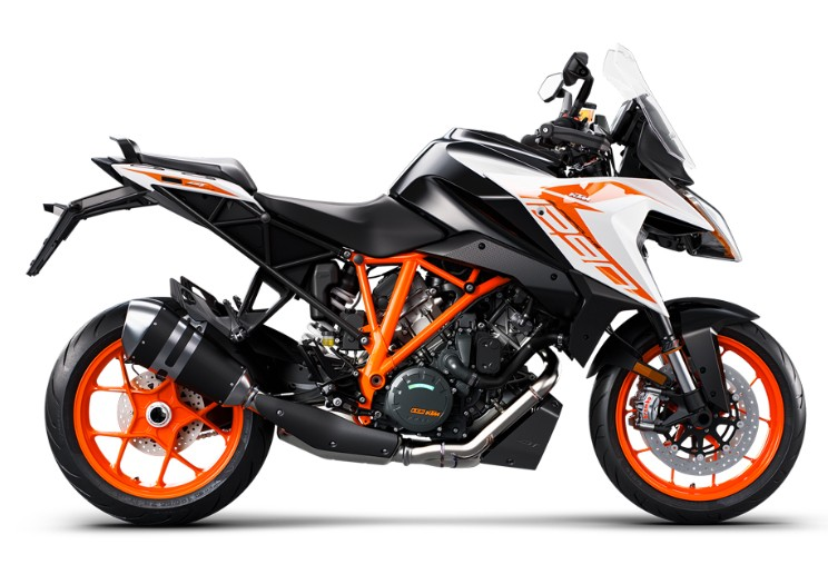 1290 Super Duke GT, white 2019 (EU)