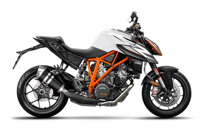 1290 Super Duke R, white 2019 (EU)