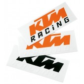 LOGO STICKER (orange/black)