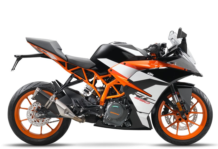 RC 390, black 2018 (EU)