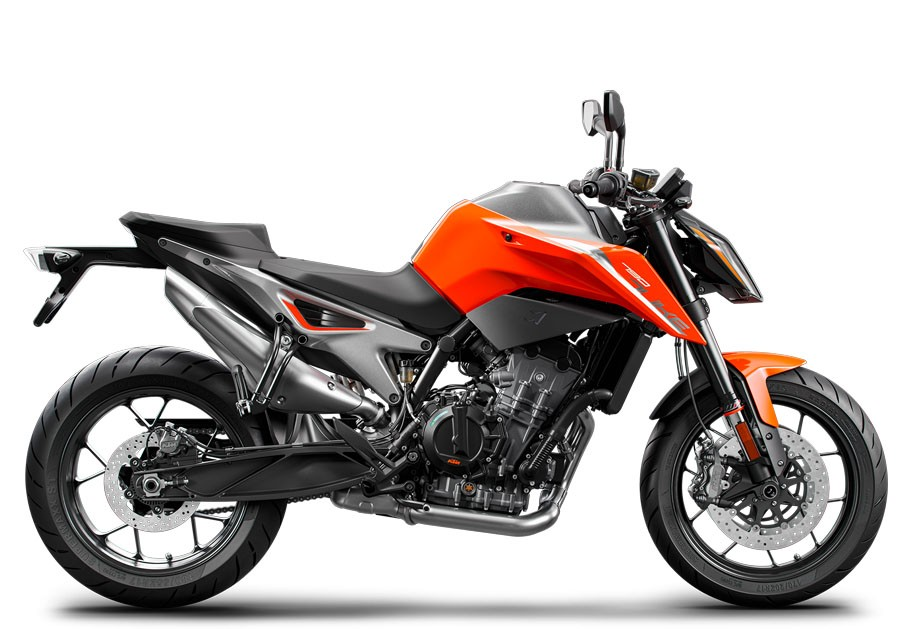 KTM 790 DUKE, ORANGE 2018 (EU)
