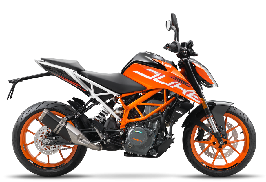 390 Duke, orange 2018 (EU)