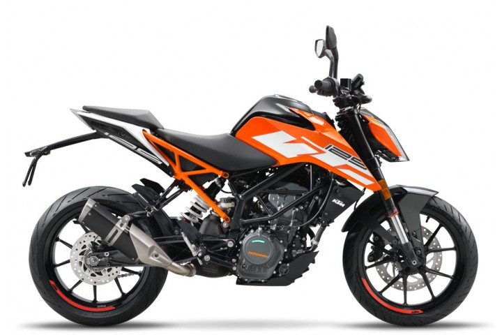 KTM 125 DUKE ORANGE (EU) 2018