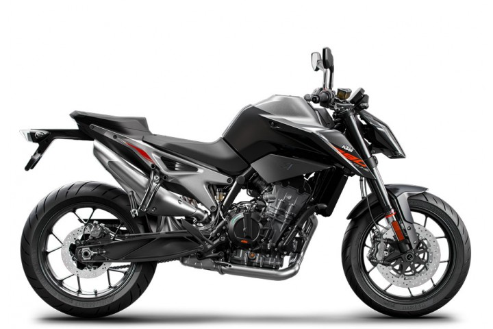 KTM 790 DUKE, BLACK 2018 (EU)